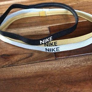 3 Nike headbands